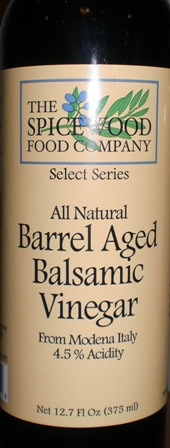 Barrel Aged Balsamic 4.5% acidity 12.7 oz.